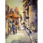 Thai street scene