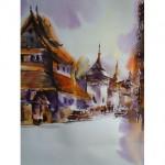 Thai street scene study