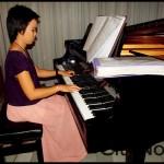 our wonderful pianist for the night | Worawuth Srakaeo